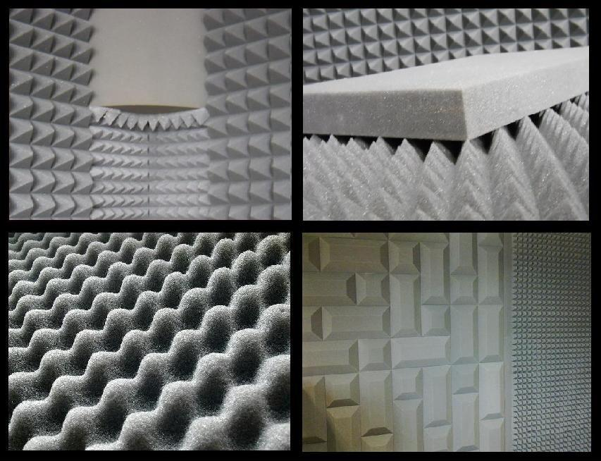 Materiały akustyczne poliuretanowe