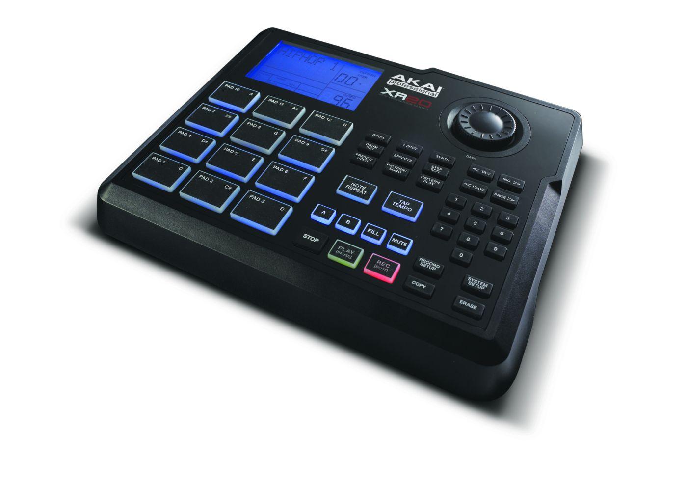 Maszyna perkusyjna AKAI XR20 i Kontroler MIDI AKAI MPD32