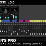 Aktualizacja oprogramowania konsolety X32