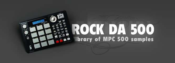 """Darmowa biblioteka sampli dla AKAi """"Rock Da 500 vol. 1"""""""